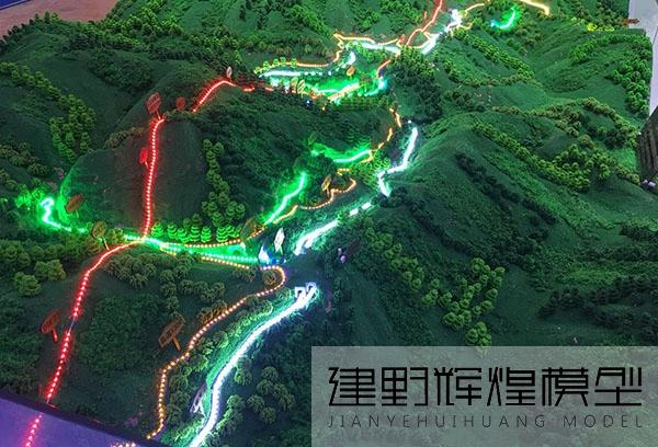 中铁隧道局玉磨铁路多媒体展示沙盘