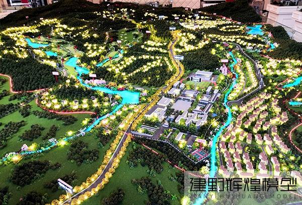 玉溪玉山城景观模型
