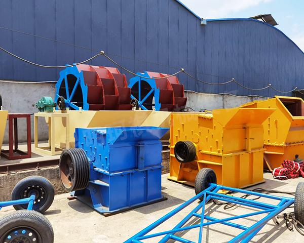 轮式水洗沙设备