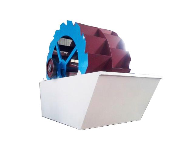 双轮斗洗砂机