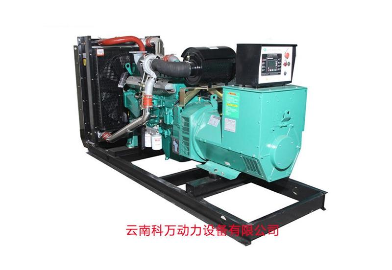 200KW移动式玉柴发电机组