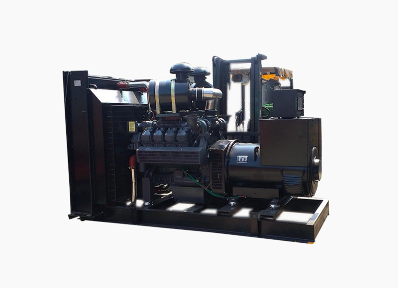 600kw道依茨移动式发电机组