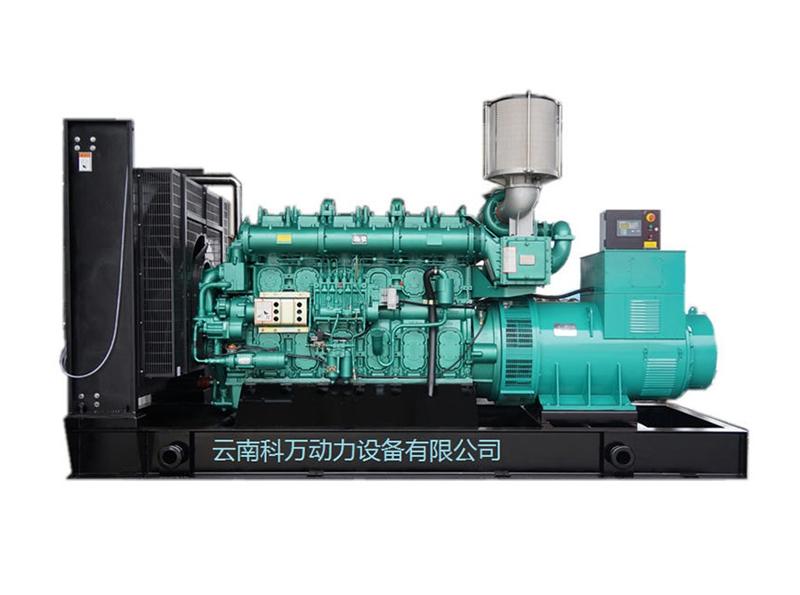 800KW移动式玉柴发电机组