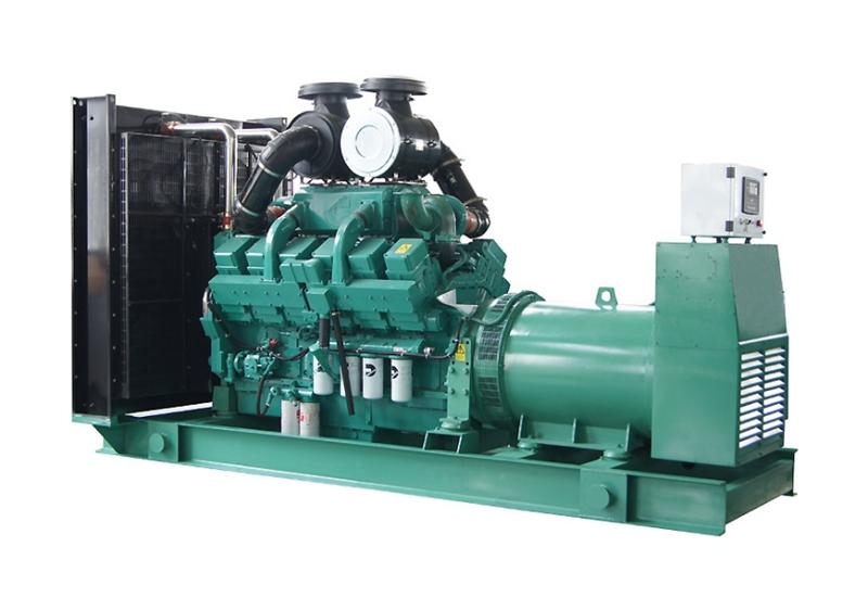 云南600KW大功率康明斯发电机组