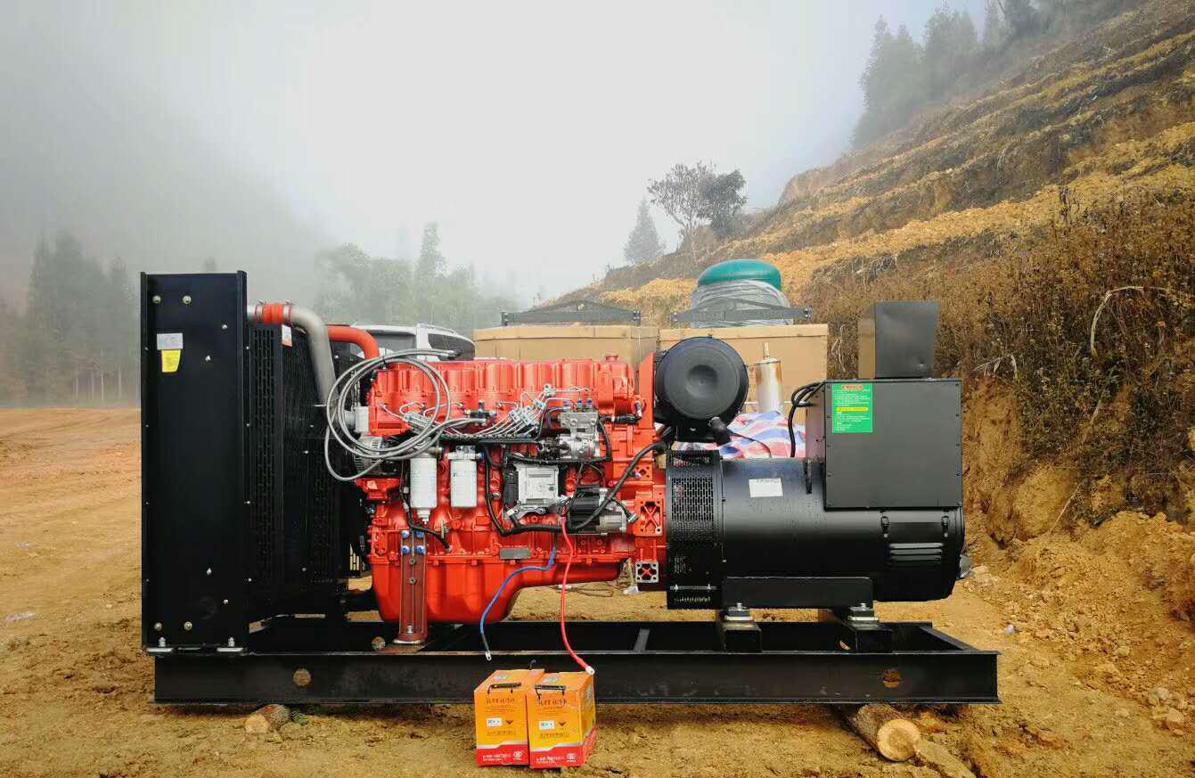 400kw高压共轨电喷备用发电机组