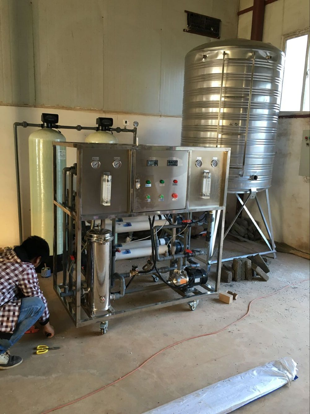 曲靖蛋鸡养殖用水处理设备
