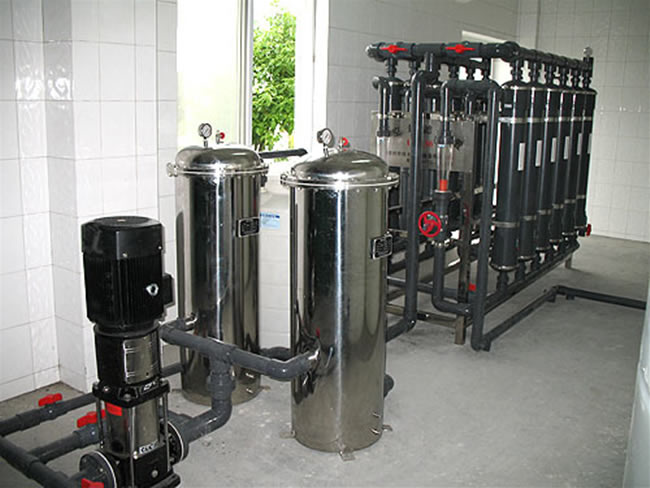 15T/H超滤矿泉水设备
