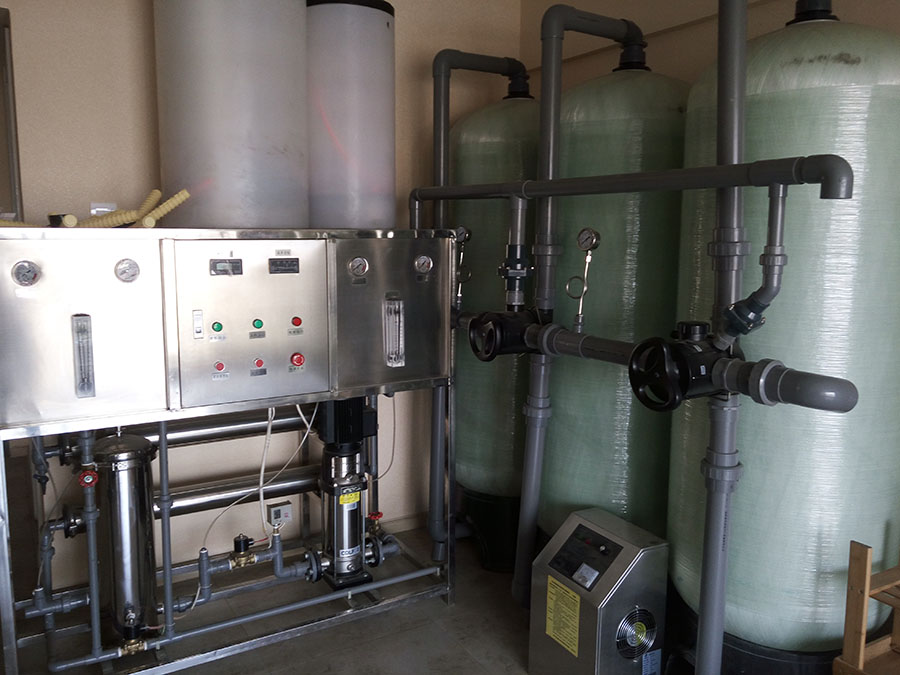 1T/H反渗透纯水设备