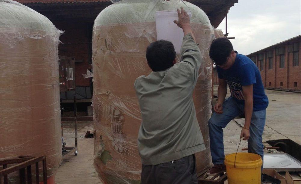 杨林16万只蛋鸡用水设备