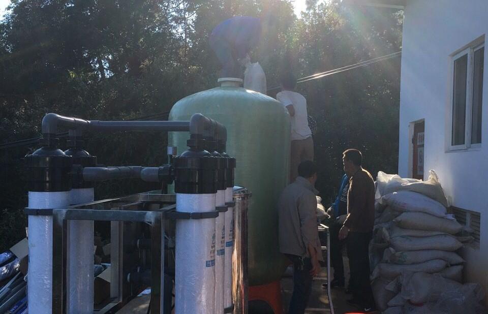 玉溪种鸡厂水处理设备