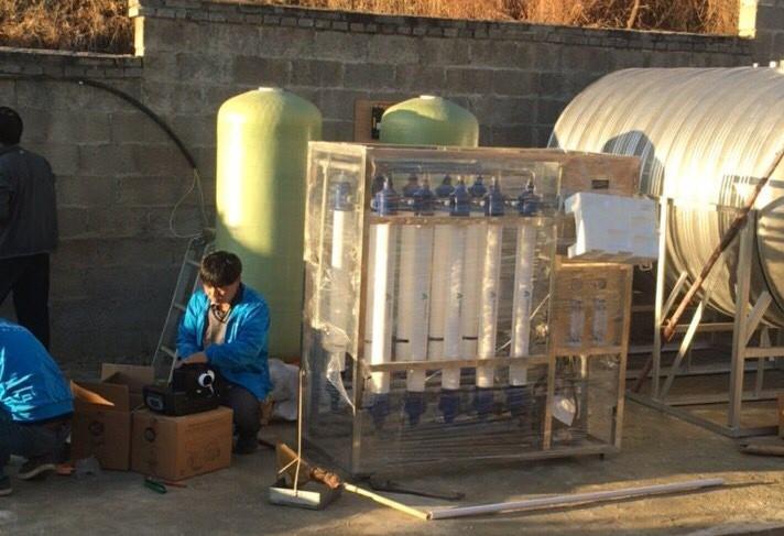 正大1500头养猪用水设备