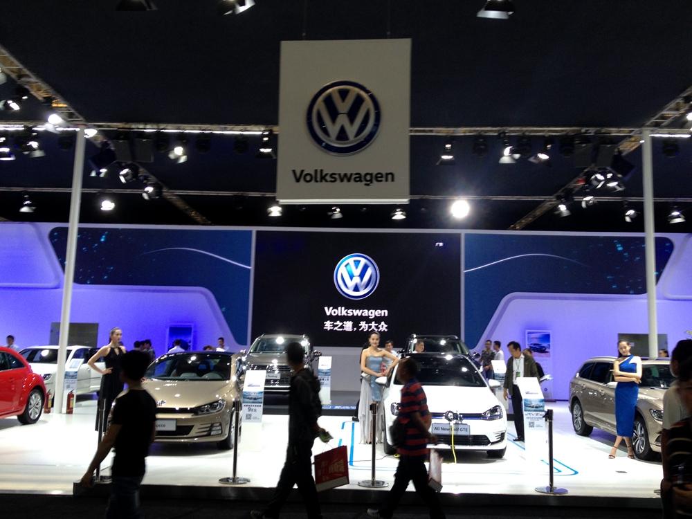 昆明国际车展进口大众