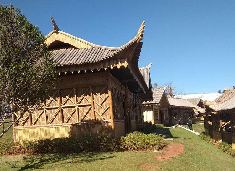 竹房子建筑