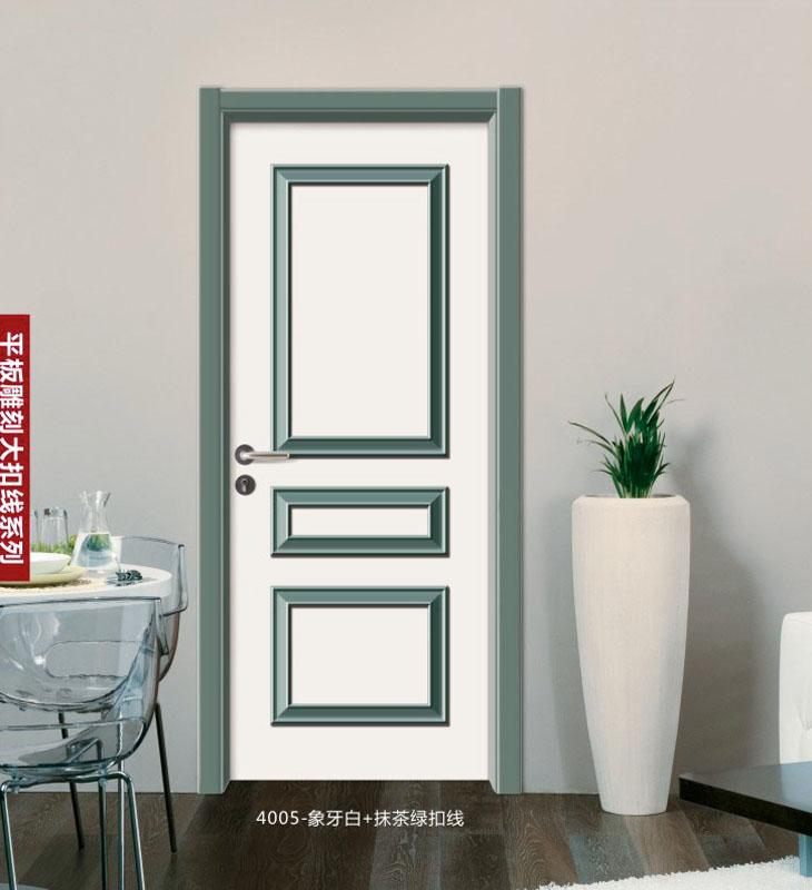 典雅拼装门-4005-象牙白