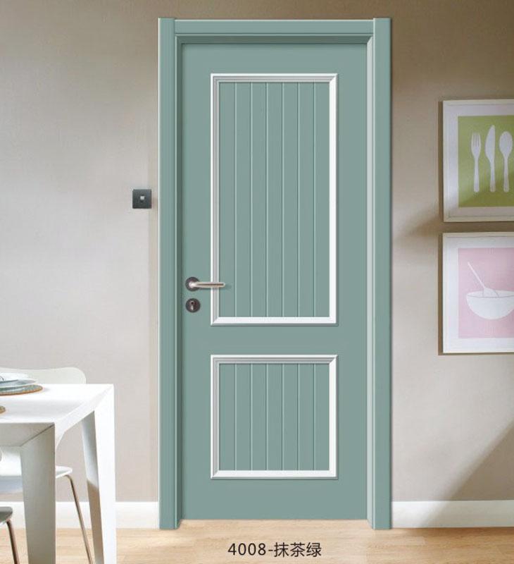 典雅拼装门-4006-抹茶绿