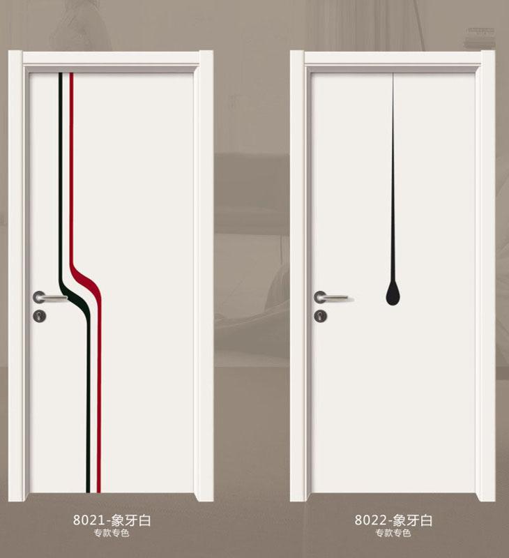 典雅拼裝門-8021-象牙白