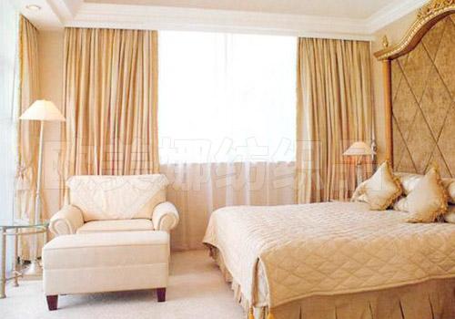 酒店電動窗簾
