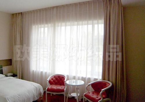 酒店房間窗簾