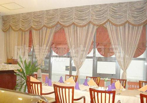酒店餐廳窗簾