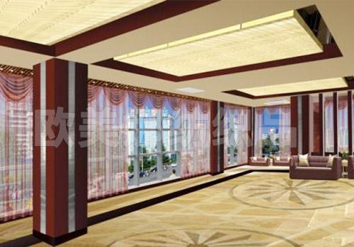 酒店大堂窗簾