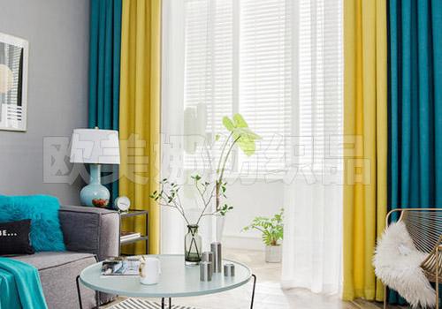 北歐風格窗簾工程