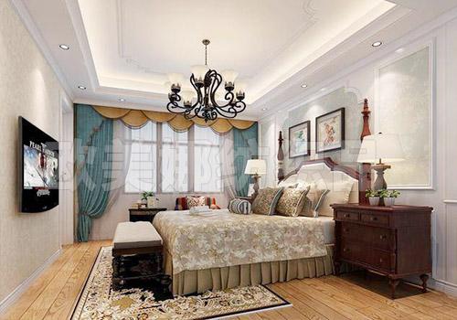 美式風格窗簾