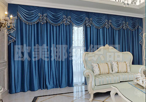 歐式風格窗簾工程