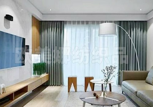 現代簡約窗簾