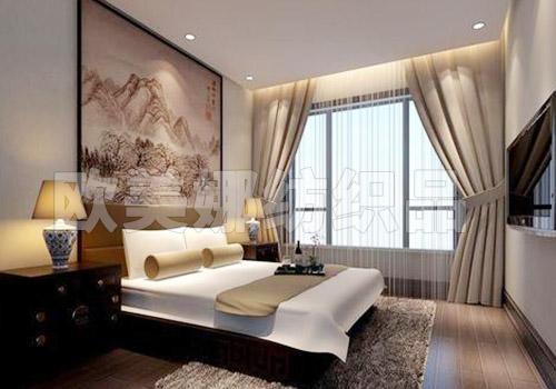 中式風格窗簾