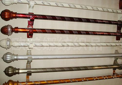 昆明窗帘批发店的窗帘杆安装需要注意些什么?