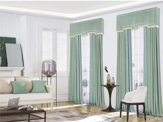 昆明窗簾店選購家居窗簾,顏色搭配很重要