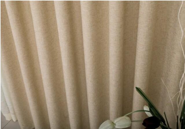 棉、麻窗帘清洗方法