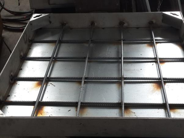 不锈钢隐形井盖局部