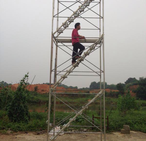 门式安全爬梯展示