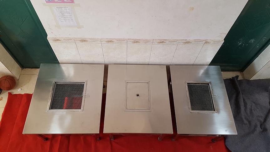 云南不锈钢烧烤桌生产