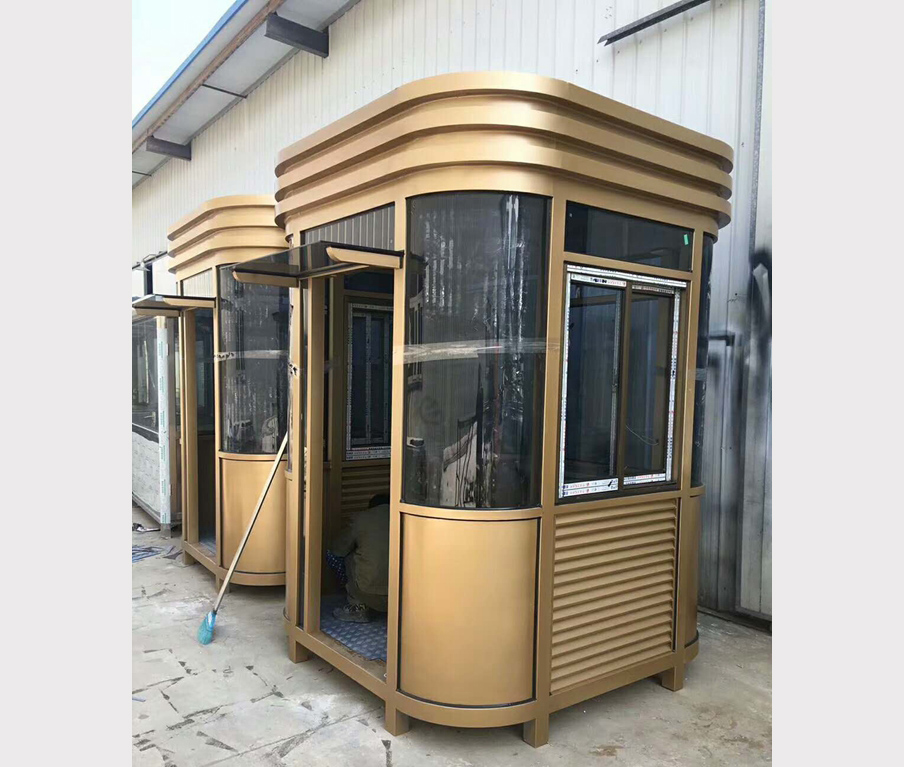 商用钢结构岗亭