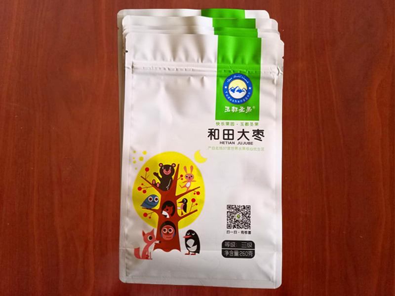大枣塑料包装袋(自封自立包装袋)