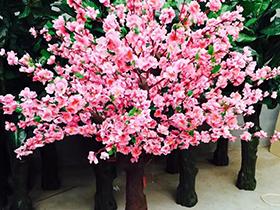 仿真桃树盆栽