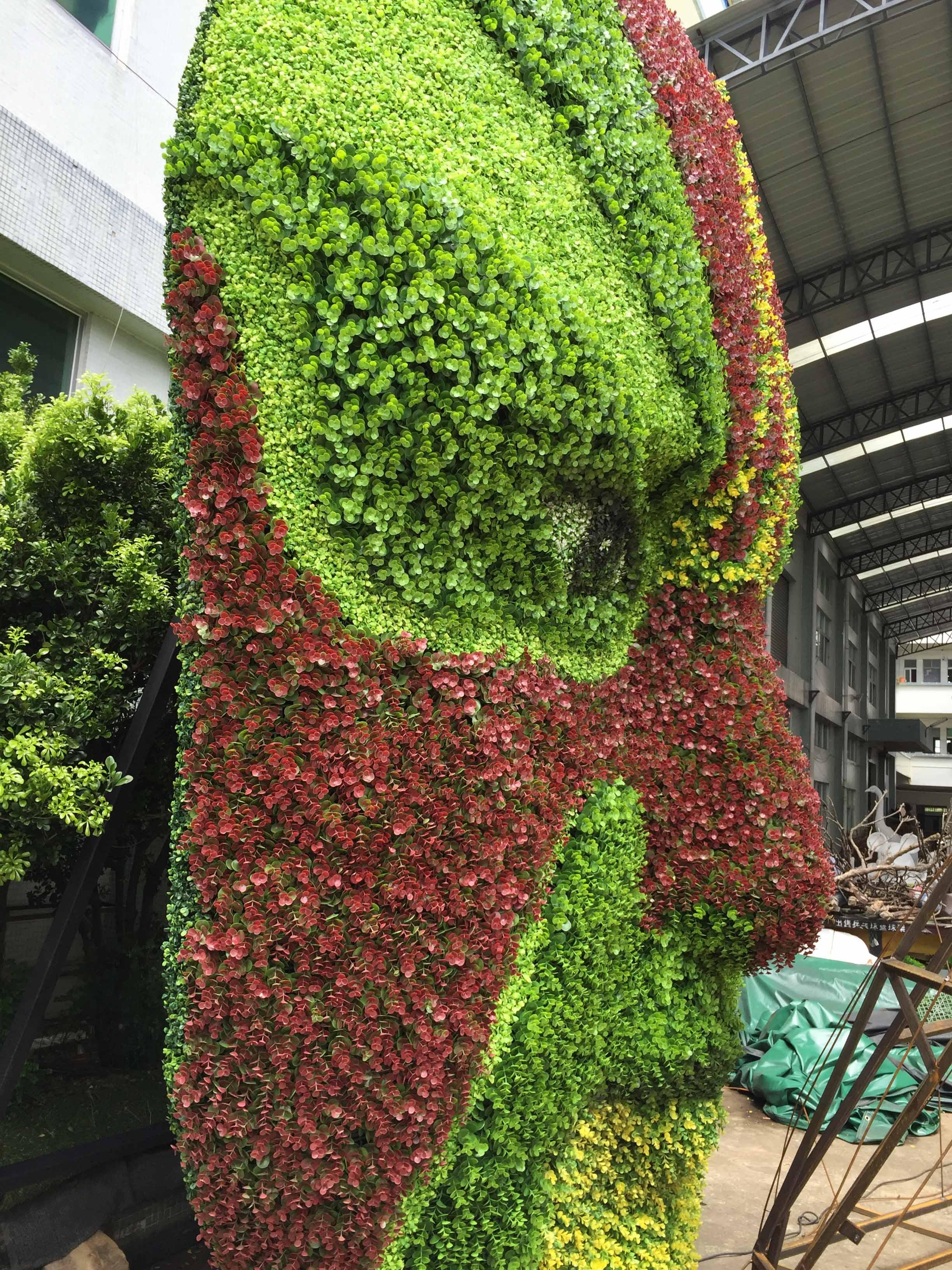 昆明室内绿植墙
