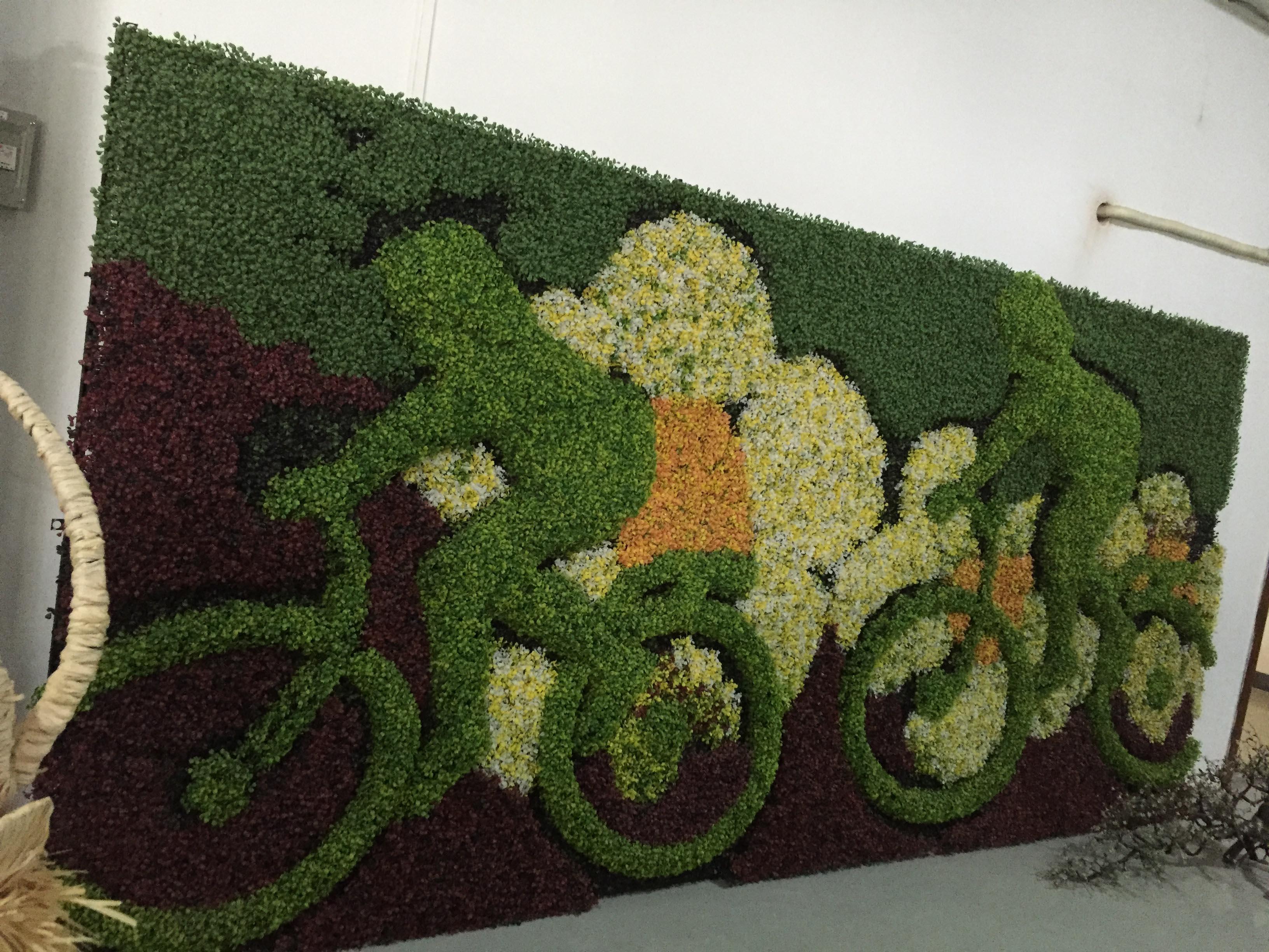 昆明植物墙厂家