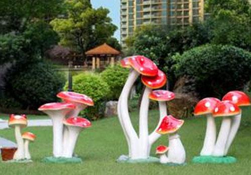 玻璃钢植物雕塑