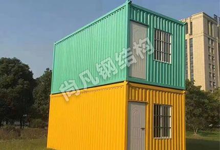 集装箱二层板房