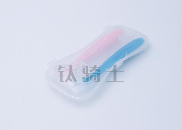 儿童硅胶辅食勺