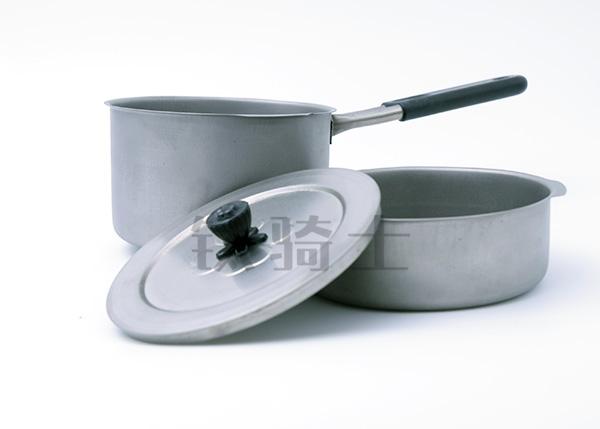 钛具煮锅平底锅组合