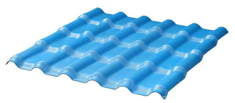 合成树脂瓦海蓝色