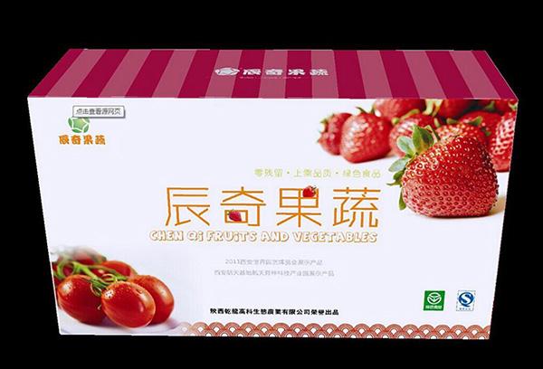 印刷精品水果包装盒