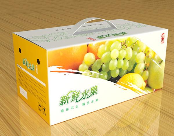 印刷精品水果包装盒3