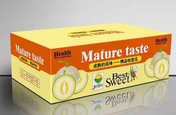 印刷精品水果包装盒12