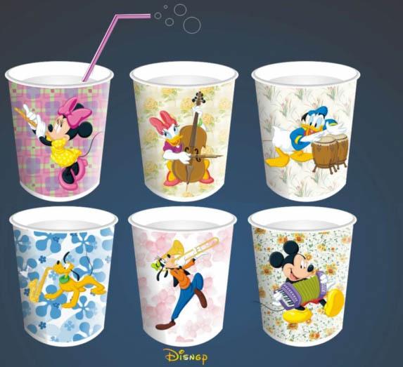印刷精品纸杯图片