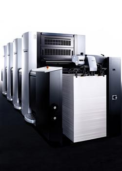 德國進口海德堡印刷設備4